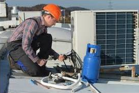 Commercial heating and cooling system Service and Repair